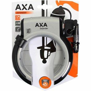 Axa ringslot Defender zilver/zwart