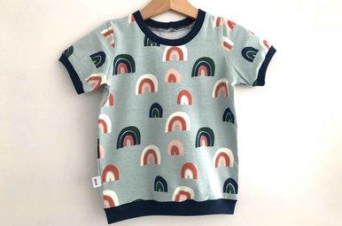 T-shirt Otis - rainbow mint