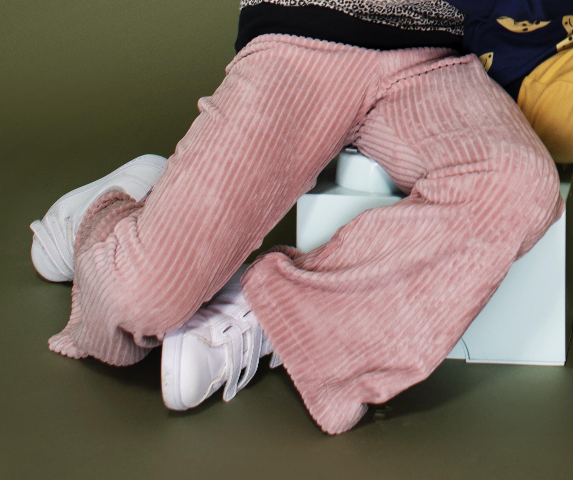 Flared pants  Gigi - Roze