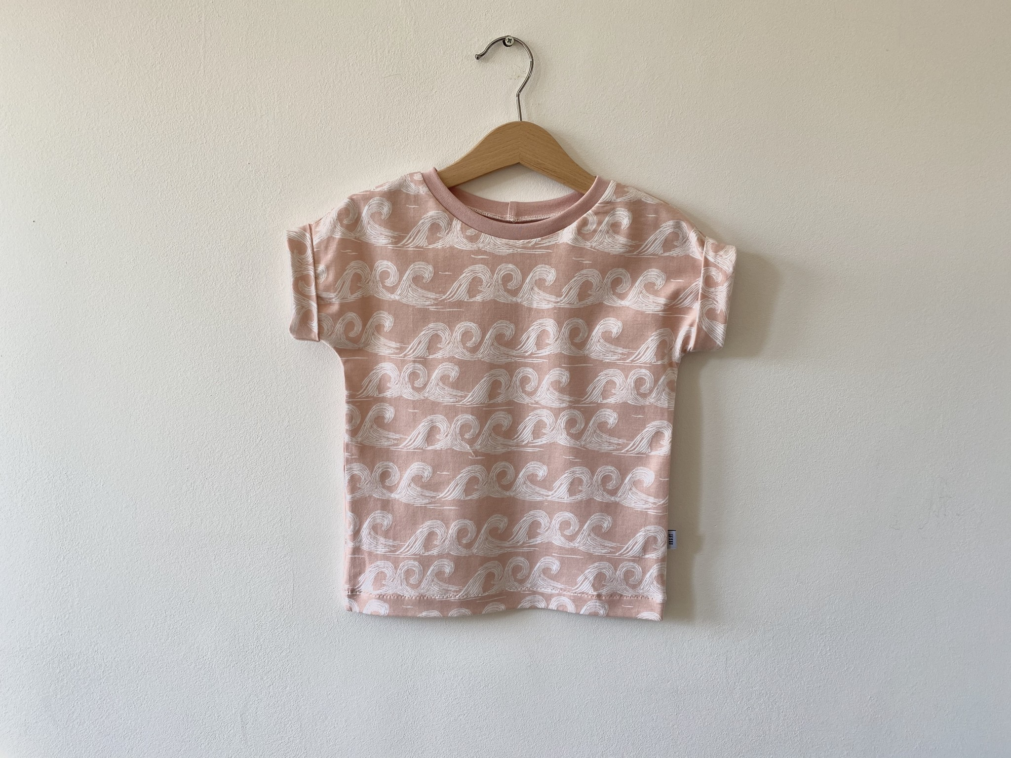 T-shirt Fons -pink waves