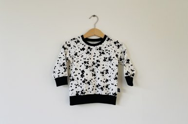 Sweater Noah - splash dots