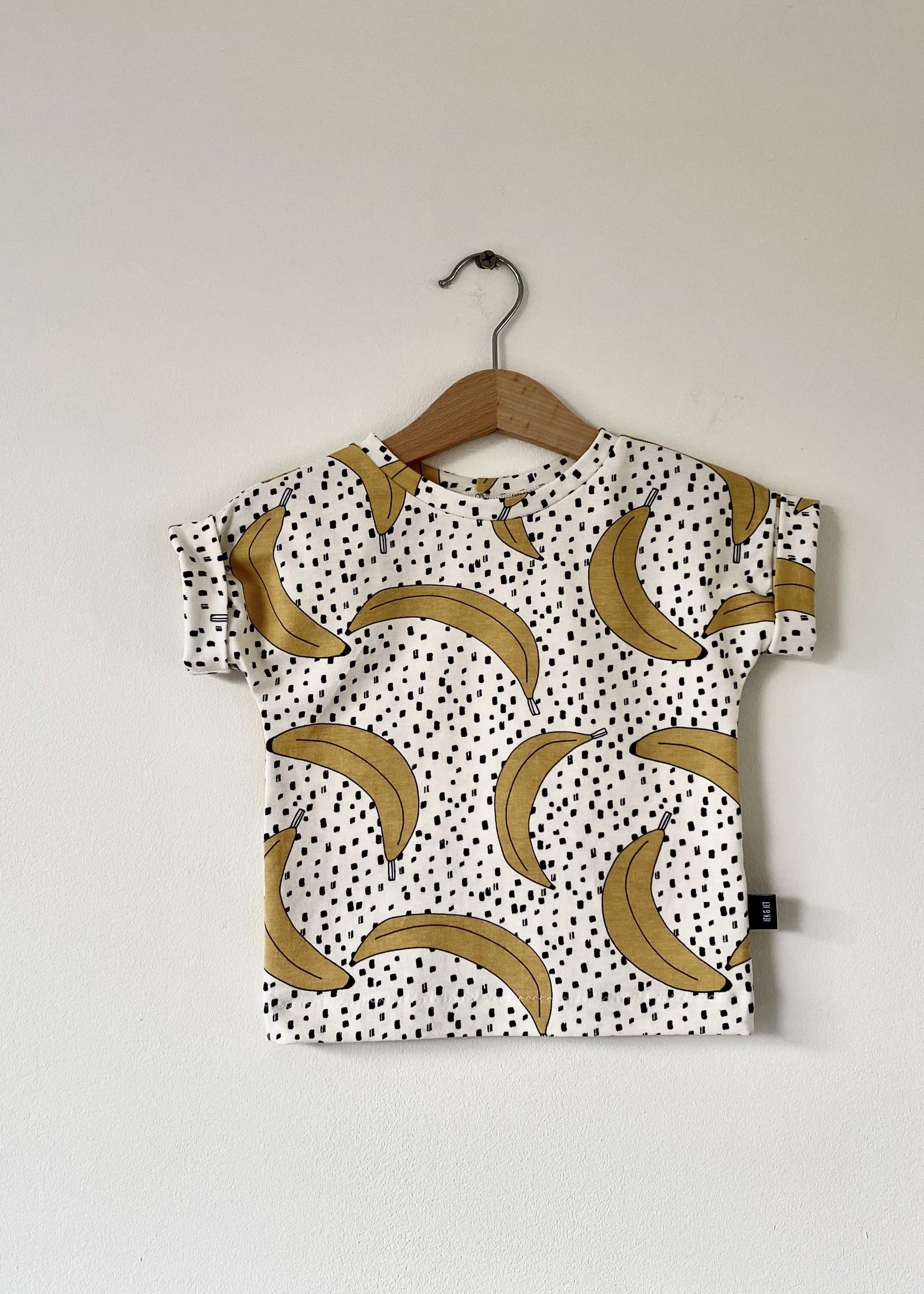 T-shirt Fons - bananen