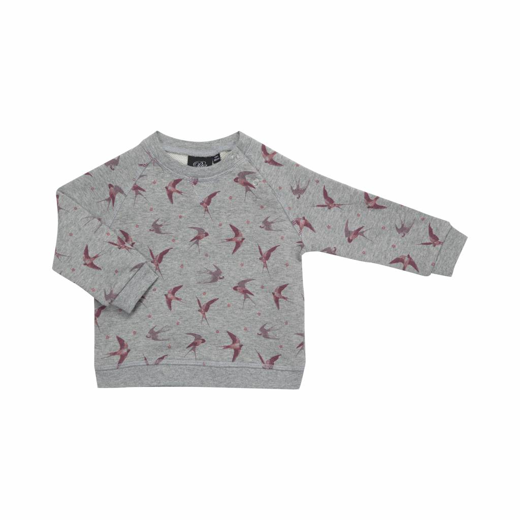 Sweater pink swallow