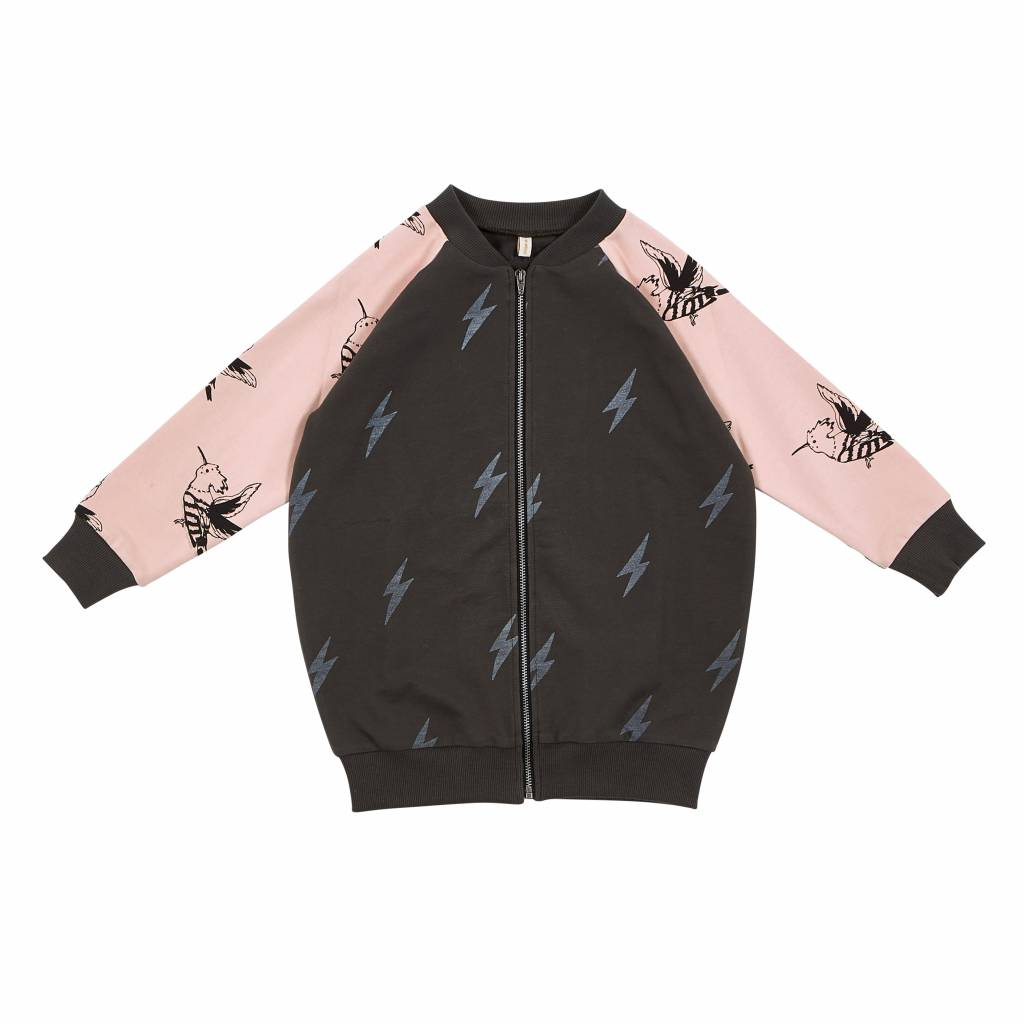Lightning bird jacket
