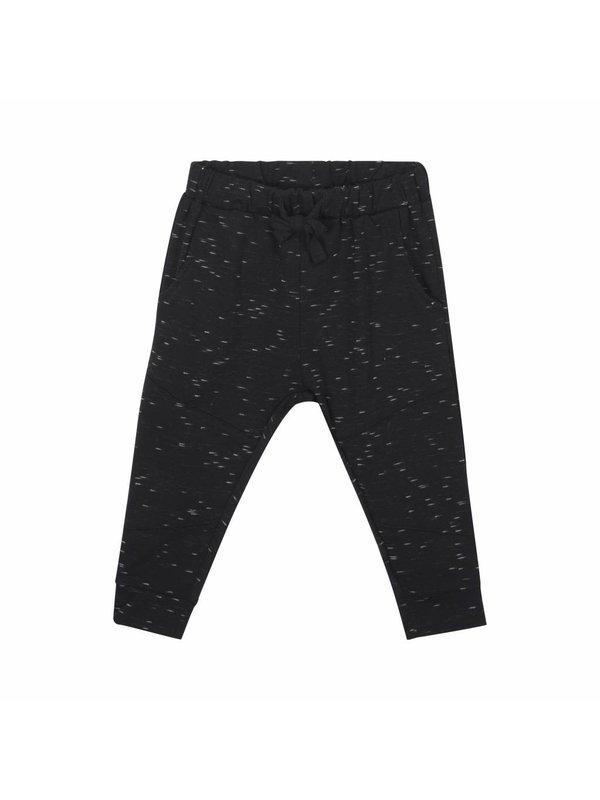 Pants black print