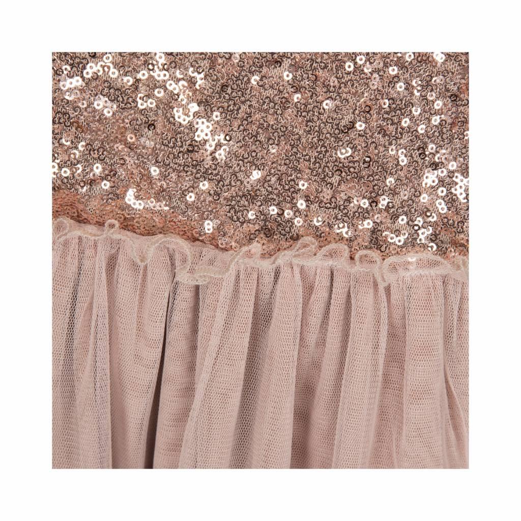 Glitter dress champagne