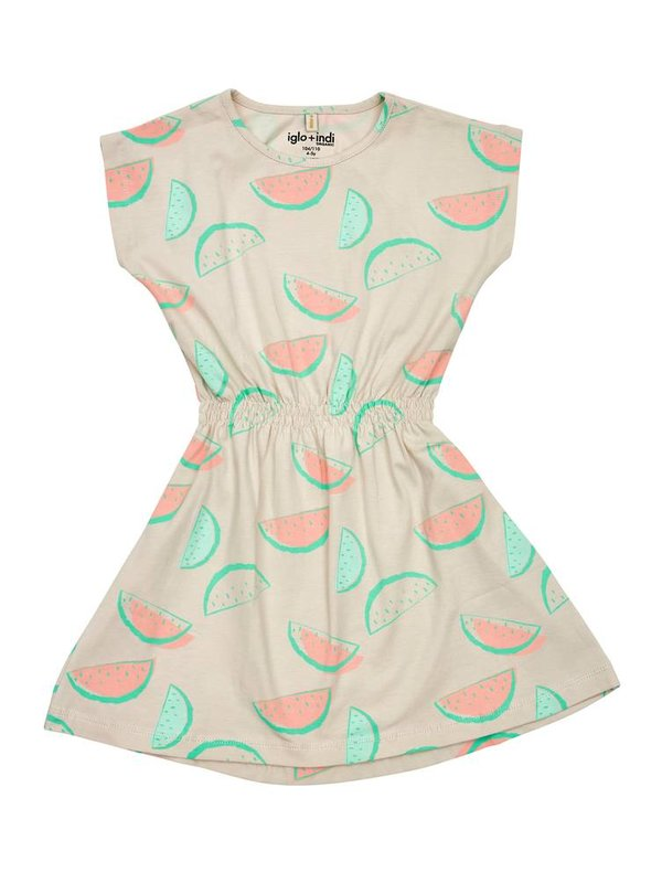 Watermelon dress LAATSTE MAAT 104/110
