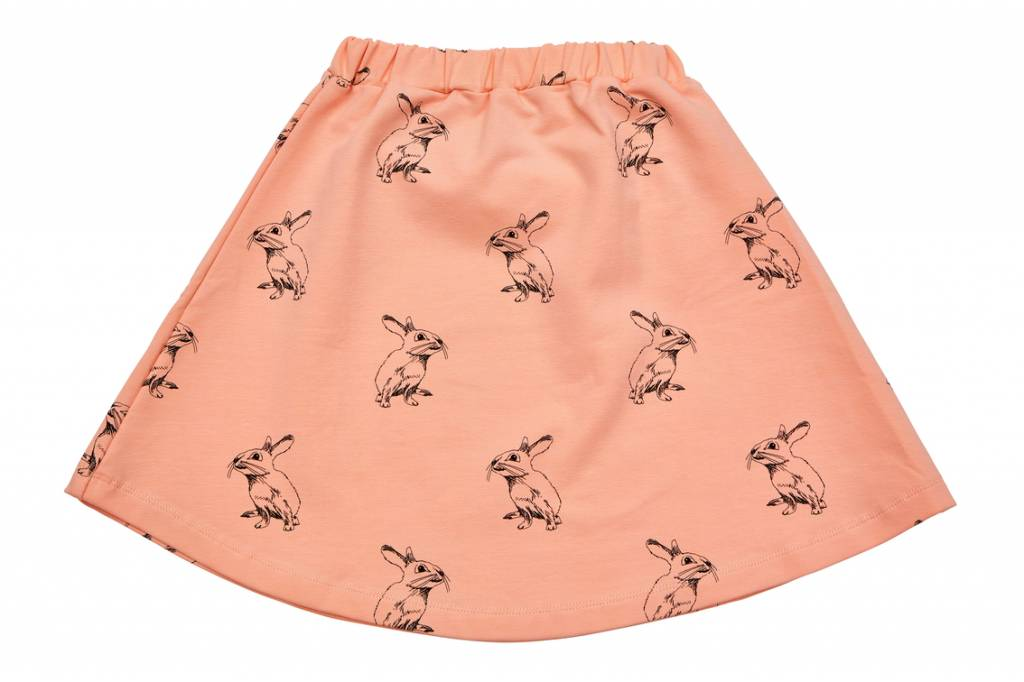 Peach Bunny Skirt