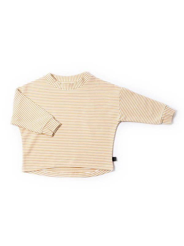 Ochre Stripe Pullover LAATSTE MAAT 5-6Y