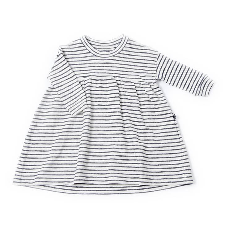 Stripy twirl dress