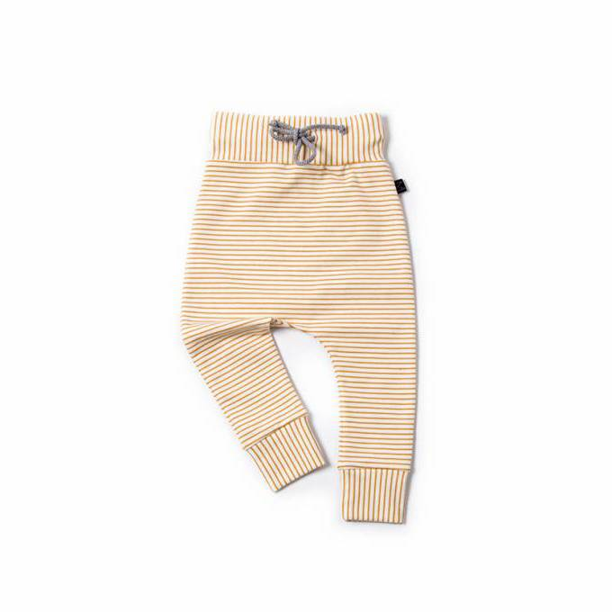 Ochre Stripe pants