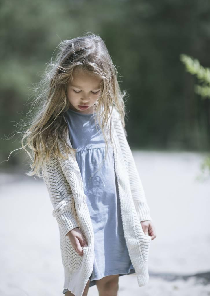 Phil+Phae kinderkleding jurk lavender blue