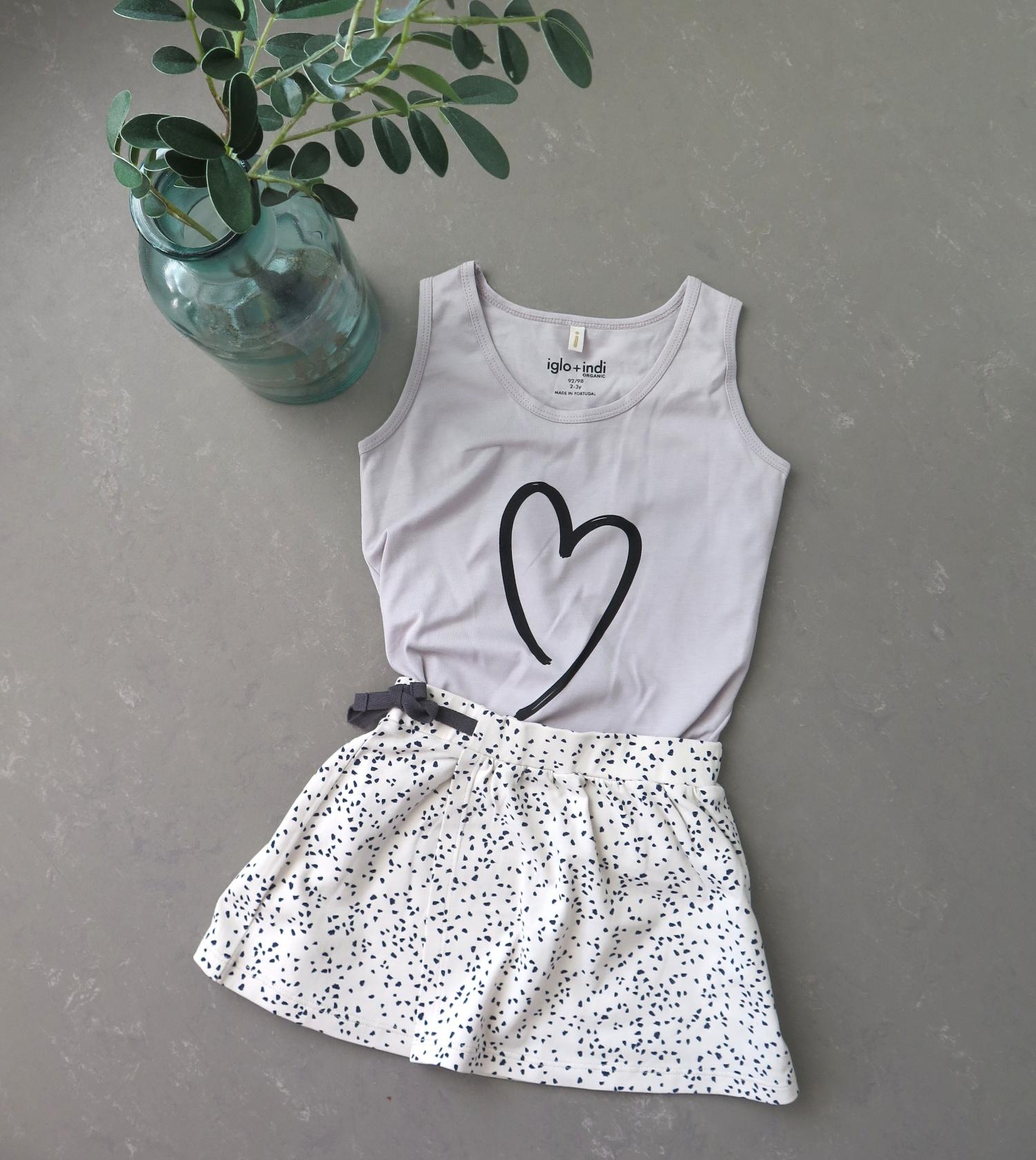 Zomer outfit moderne meisjeskleding