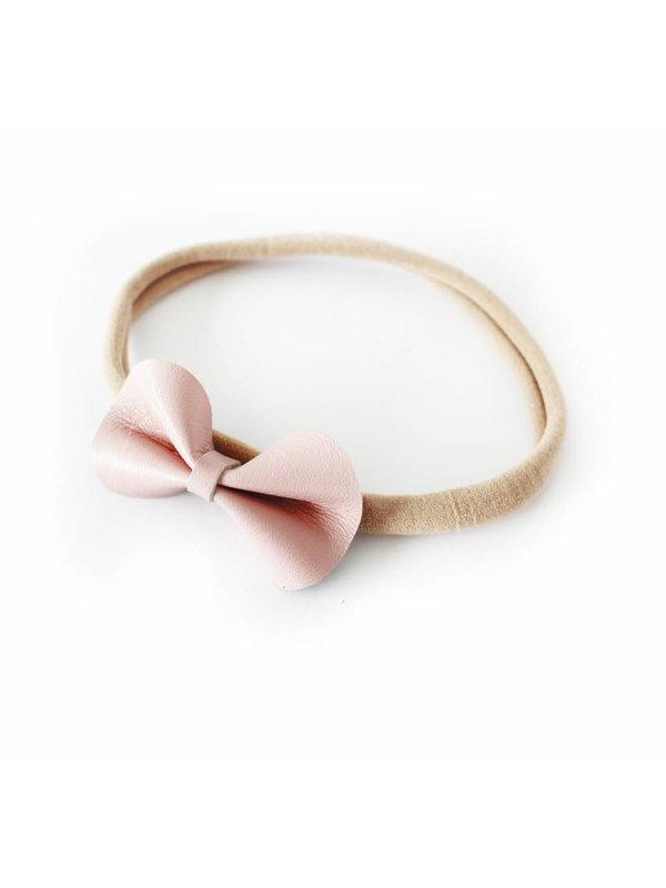 Basic Bow pink/nude