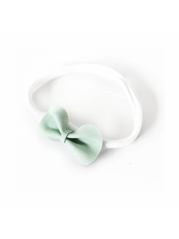 Basic Bow white/mint