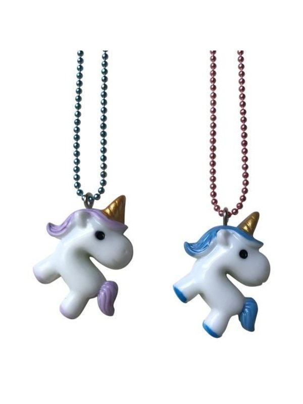 Baby Unicorn Necklace BFF set
