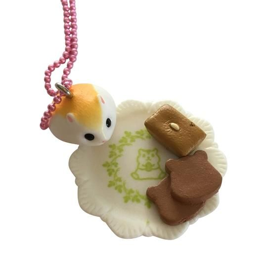 Hamster bakery Necklace