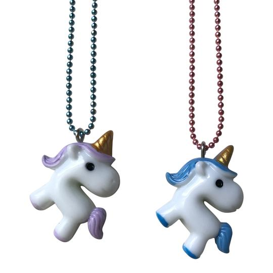 unicorn necklace - pop cutie
