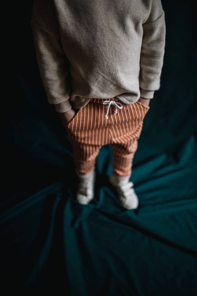 Terracotta Stripe Pocket Pants