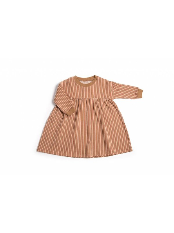 Terracotta Stripe Dress