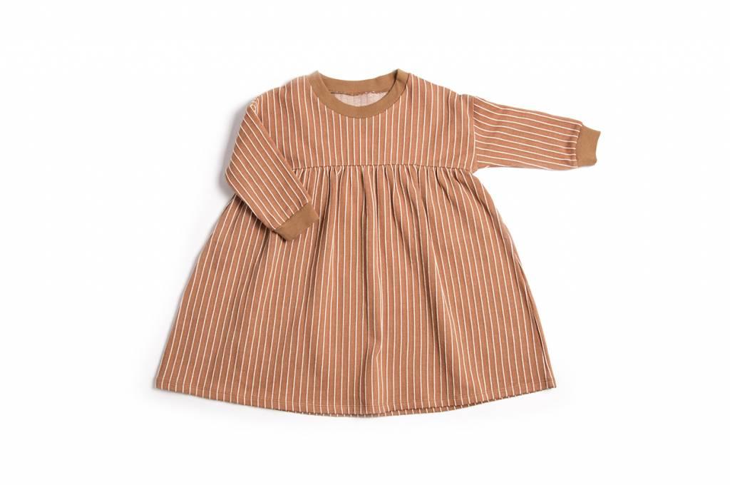 Terracotta Stripe Dress