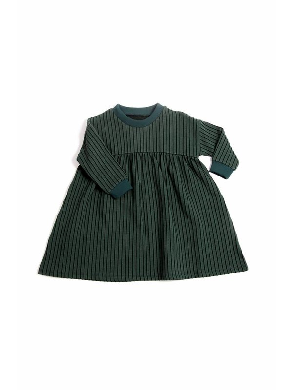 Emerald Stripe Dress