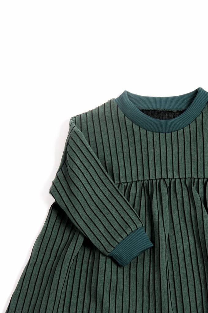 Emerald Stripe Dress