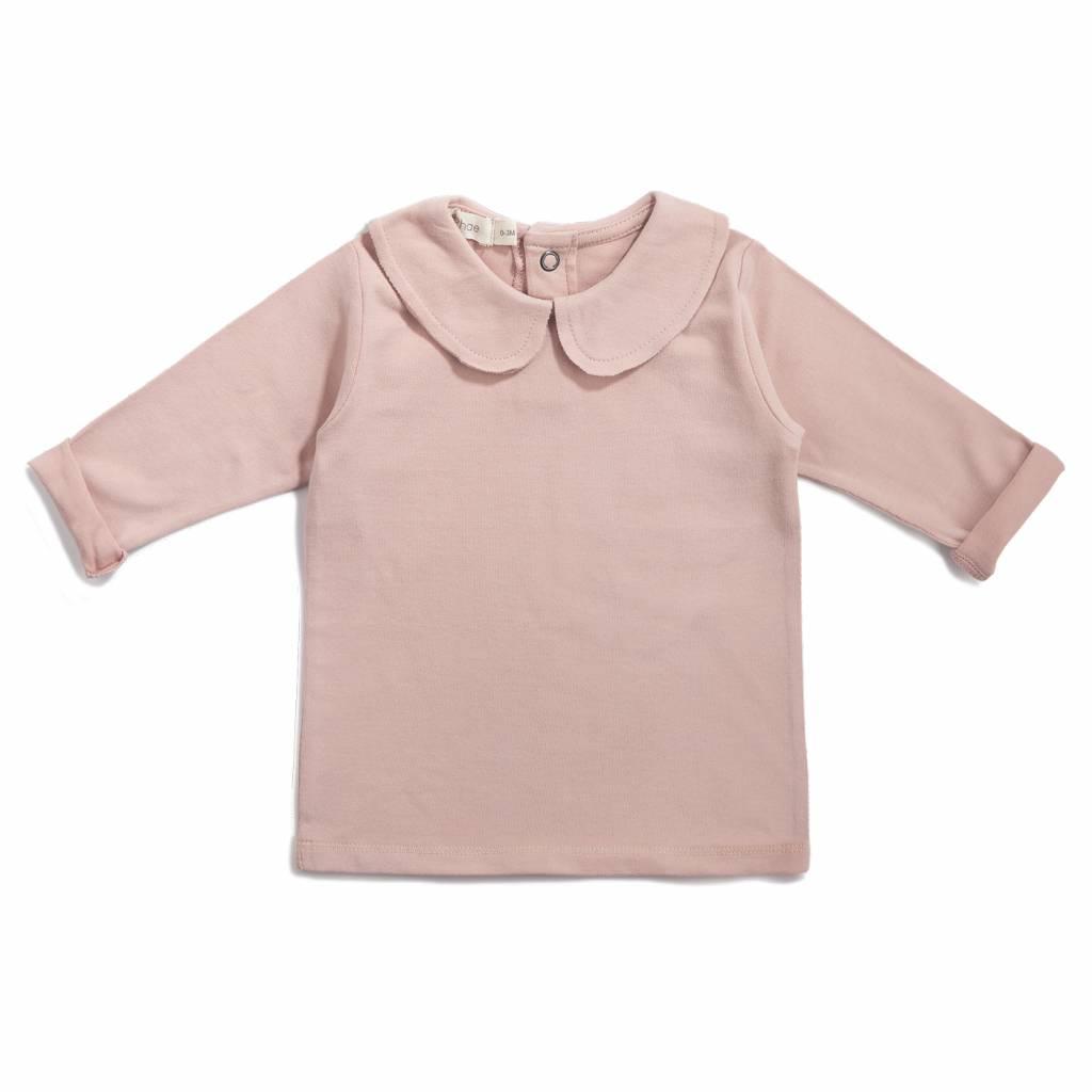 Collar Tee blush