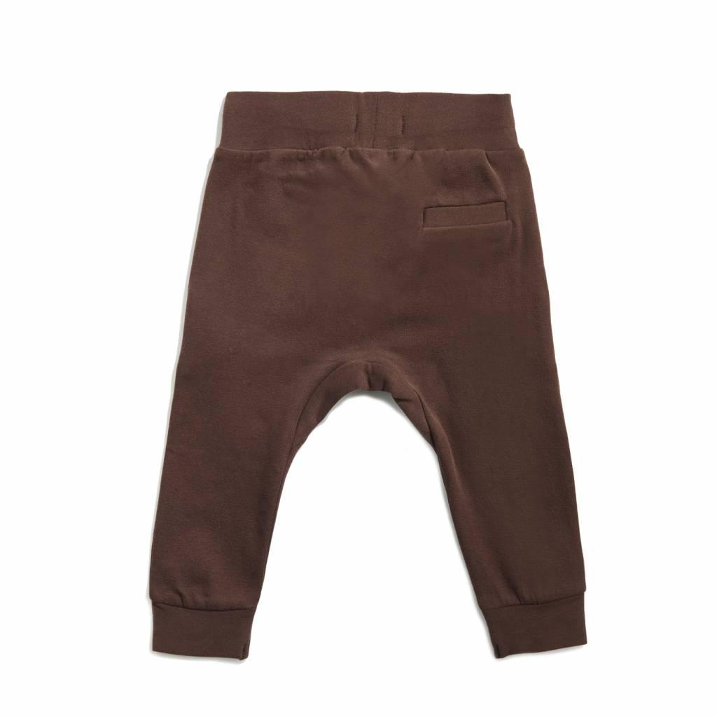Drop crotch sweatpants Cocoa