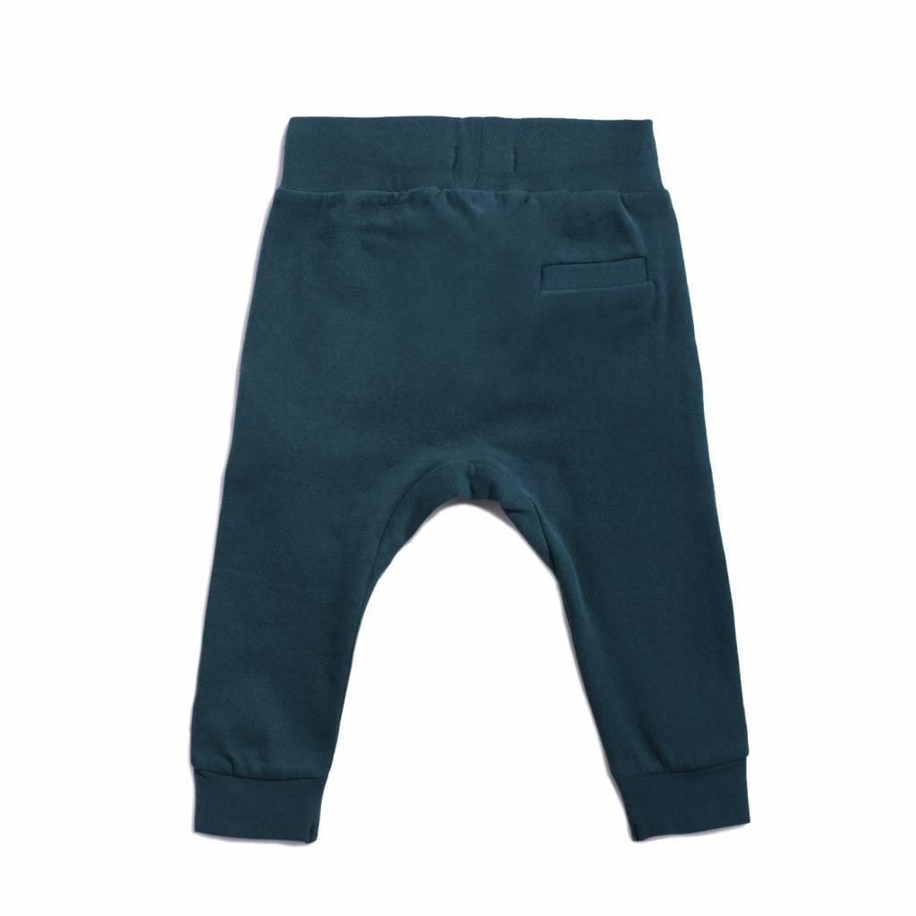 Drop crotch sweatpants Deep Teal