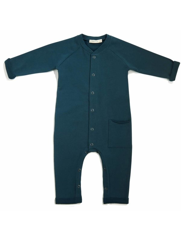 Sweat Jumpsuit deep teal