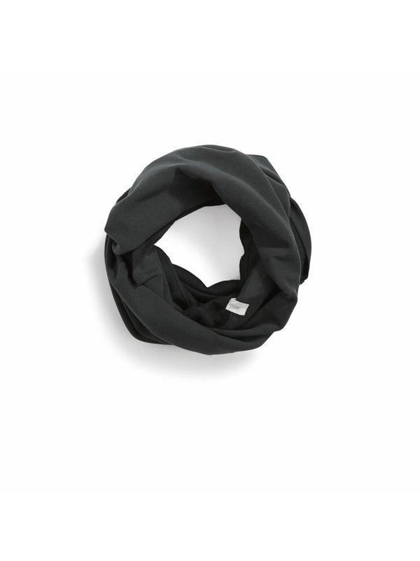 Infinity scarf velvet graphite