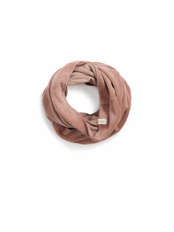 Infinity scarf velvet