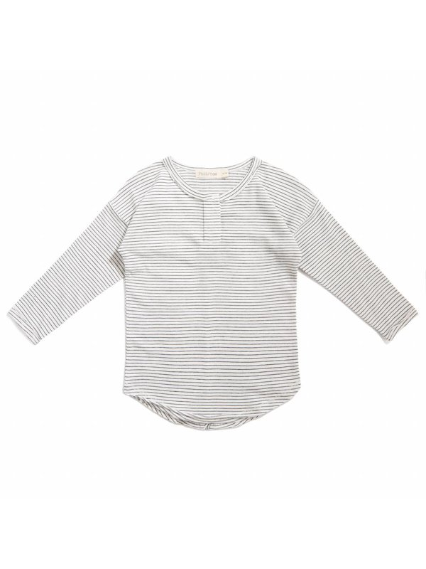 Henley top stripe