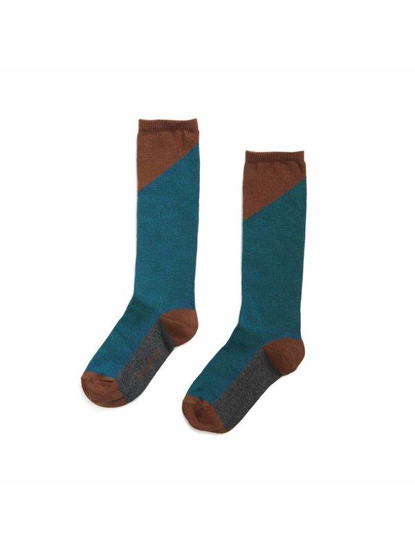 Knee Socks Deep Teal LAATSTE MAAT 18