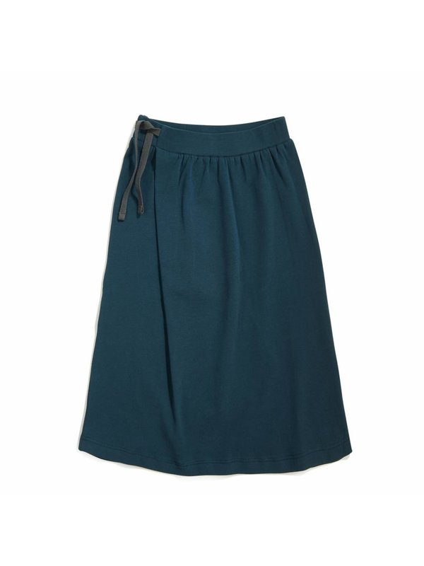 Long skirt deep teal