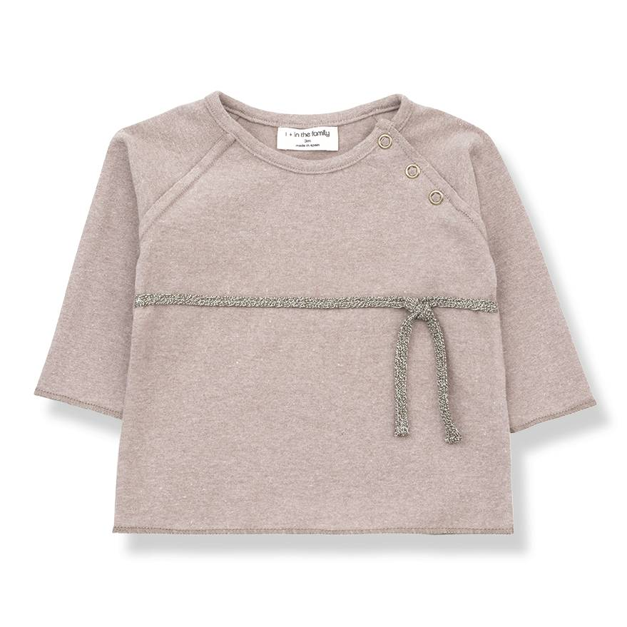 Cuca newborn shirt rose