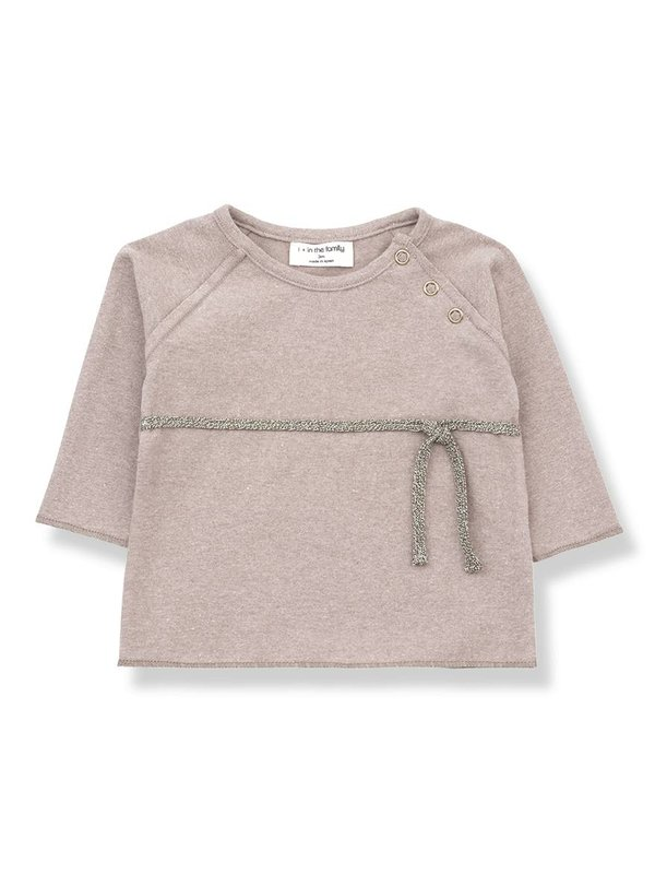 Cuca newborn shirt rose