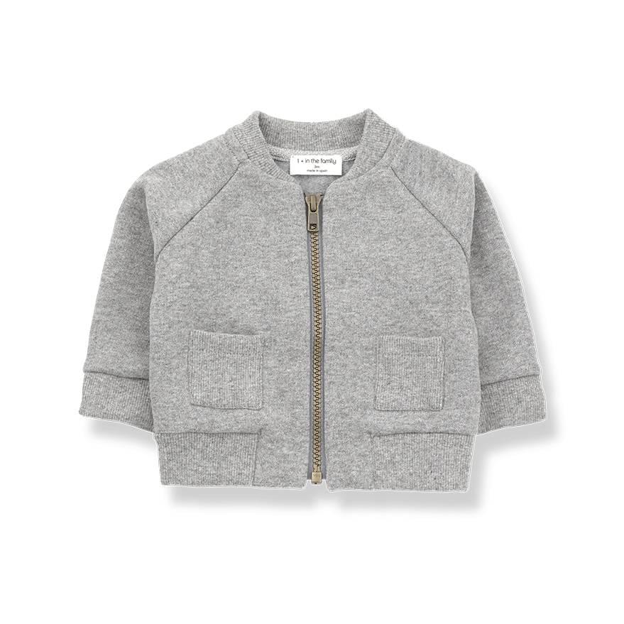 Robin jacket light grey