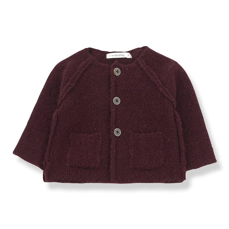Agnes knitted jacket pruna