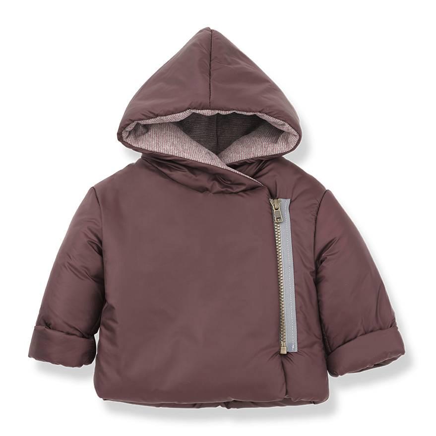 Hansel zipper jacket pruna