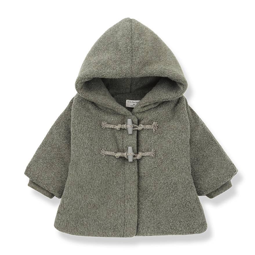 Dorian fleece jacket khaki