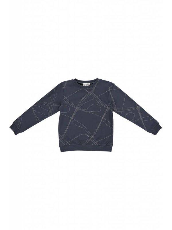 Sweater dark washed