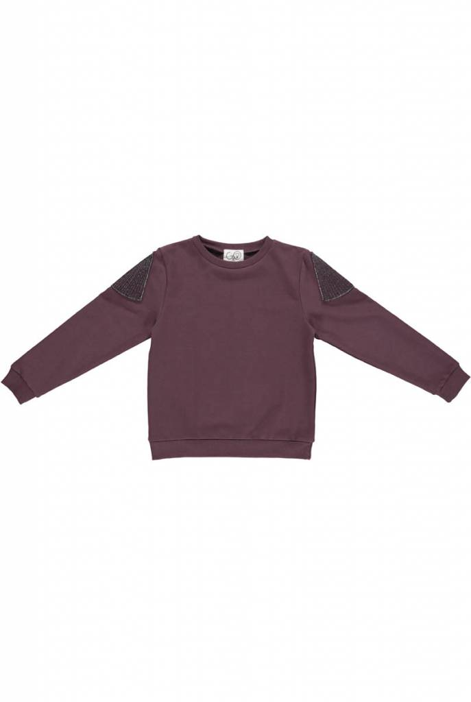 Sweater aubergine