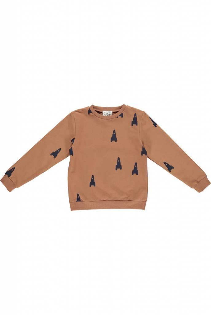 Sweater cognac rocket