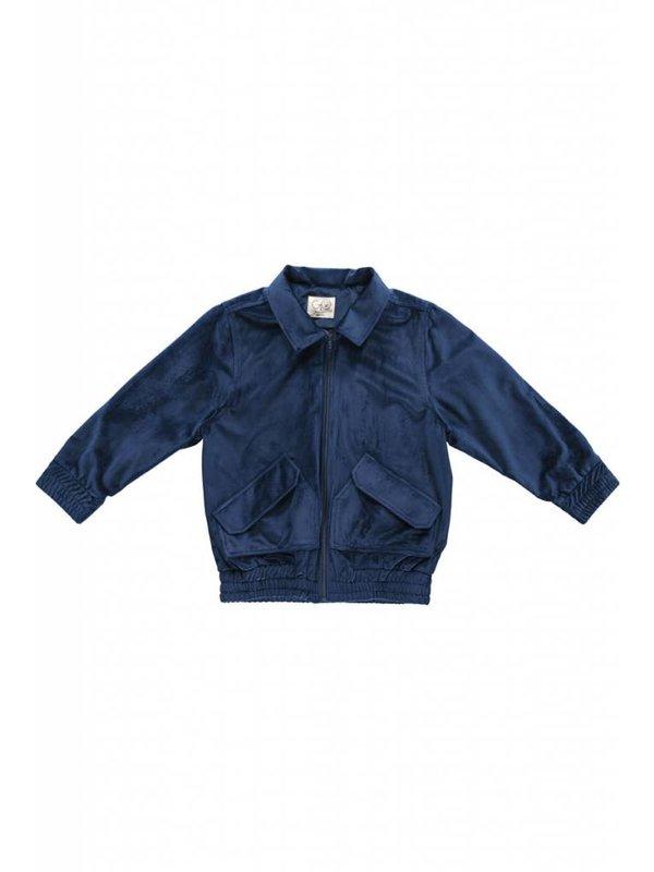 Woven velvet jacket LAATSTE MAAT 104-110