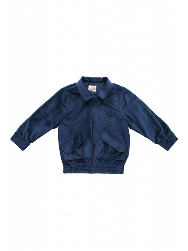 Woven velvet jacket