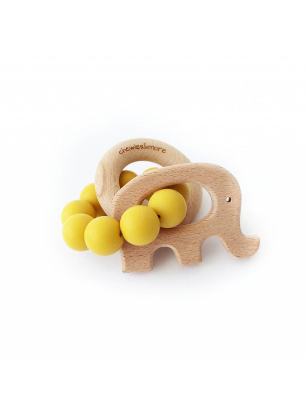 Play Rattle Olifant ochre