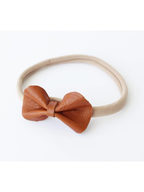 Basic Bow Cognac