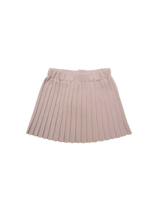 Plisse skirt pink